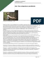 Eco Sitio - Educacin Ambiental. Una Asignatura Pendiente - 2012-02-26