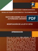 Nuevomecanismodeelecciondelasautoridadesuniversitarias