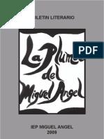 Boletin Literario La Pluma Del Miguel Angel 2009