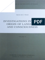 Trán Duc Thao-Investigations Into the Origin of Language and Consciousness
