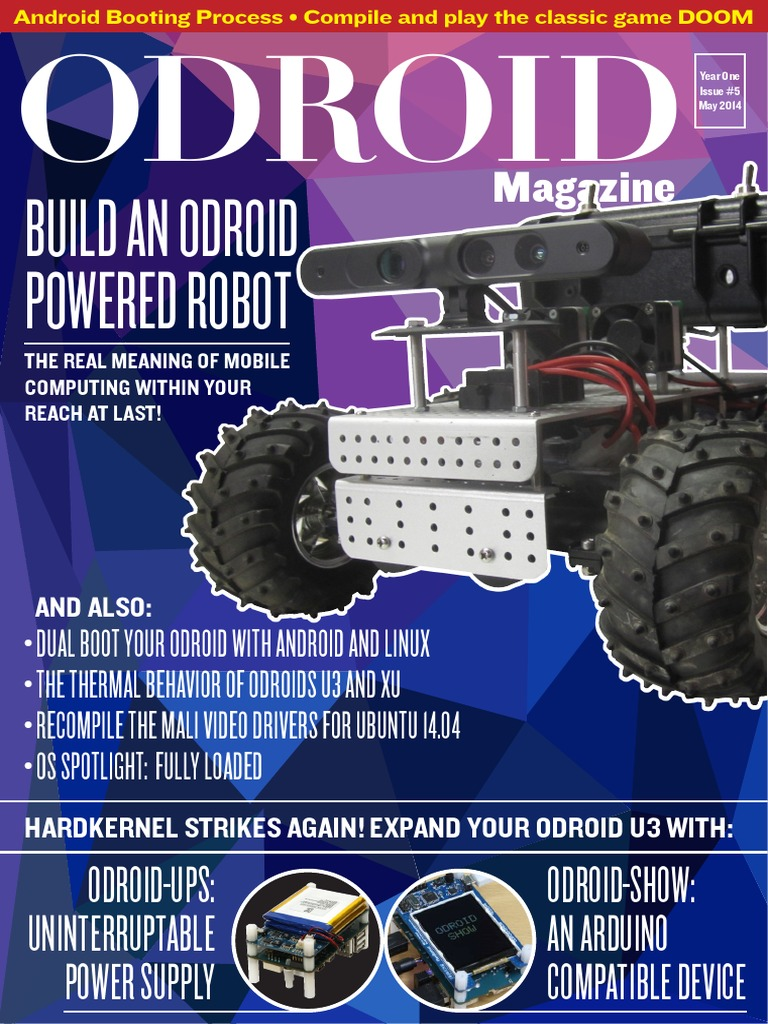 ODROID-Magazine-201405 pdf | Android (Operating System