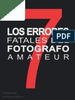 Error Es Del Foto Graf o