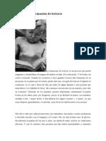 Formacion de Lectores Un Estudio de Campo