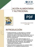 Educación Alimentaria y Nutricional