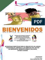 Presentación Proyecto Juegos Tradicionales
