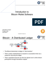 Bitcoin Wallets by Johnathan Corgan