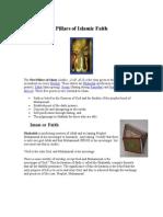 Pillars of islamic faith