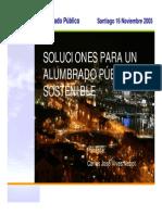Soluciones Alumbrado Publico Sostenible Carlos Vives N