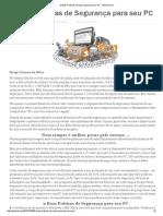 9 Boas Práticas de Segurança Para Seu PC - Gibanet