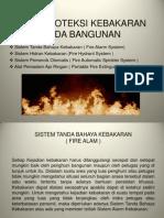 Materi Pelatihan Pemadam Kebakaran Alat Proteksi Pada Bangunan
