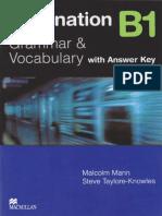 Destination b1 Grammar and Vocabulary Key