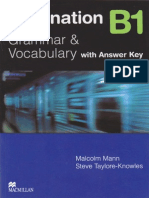 Destination b1 Grammar and Vocabulary Key