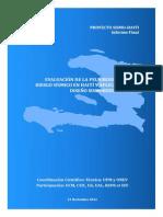 Informe Sismo Haiti