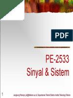 Sinyal dan Sistem Telkom