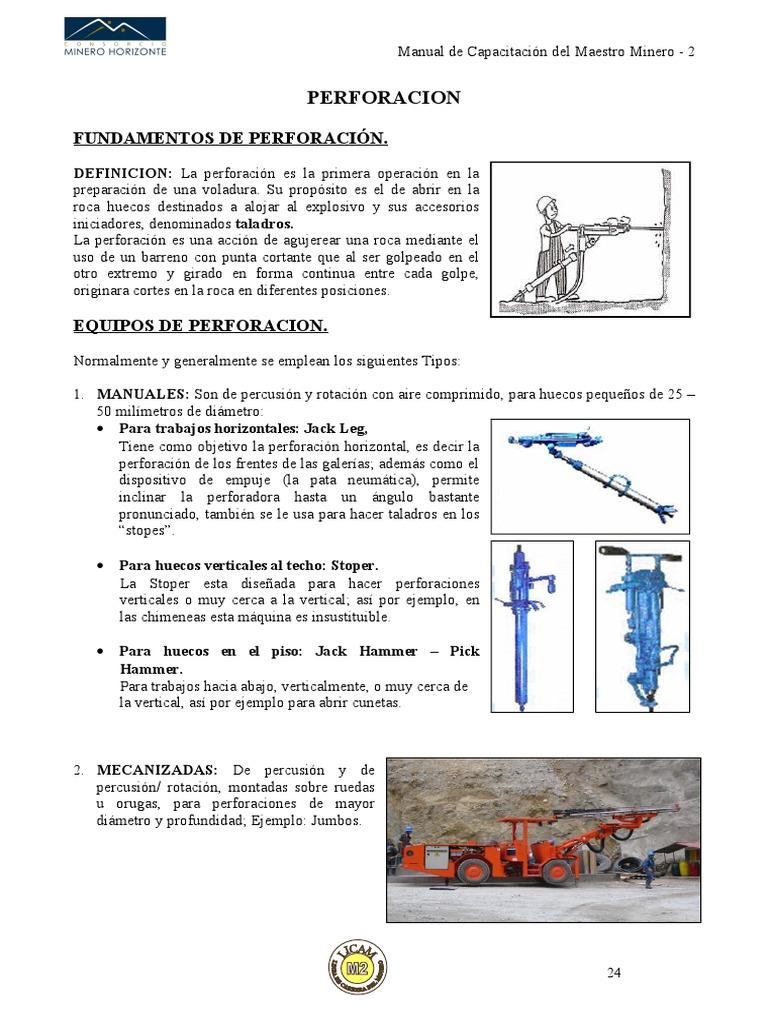 Manual Del Maestro Perforacion