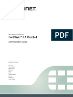 FortiWeb 5 1 Patch 4 Administration Guide Revision1