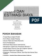 Teori Dan Estimasi Biaya