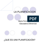 La Planificacion(1)
