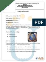Guia de Actividades y Rubrica de Evaluacion Proyecto Final 2013 i