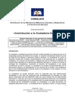 COMALACE 2010 - Contribucion a La Ciudadania Europea