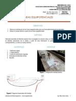 Laboratorio Electromagnetismo - Líneas Equipotenciales