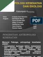 Antropologi Kesehatan Dan Ekologi