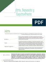 Delirio, Demencia y Esquizofrenia