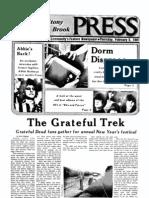 The Stony Brook Press - Volume 2, Issue 13