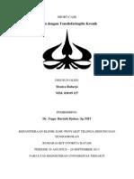 Short Case Tonsilofaringitis Kronik - Tht Rsob - Monica Raharjo 03009157