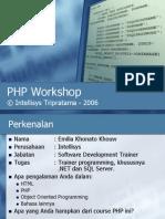 Belajar PHP Pengenalan