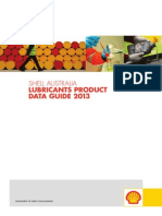 Shell Australia Lubricants Product Data Guide 2013