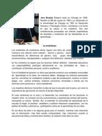 La Enseñanza y Cómo Empezar El Diario de Lo General a Lo Concreto.