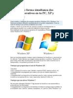 Dos Sistemas Operativos en Tu PC
