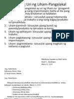 Iba't Ibang Uri Ng Liham-Pangalakal