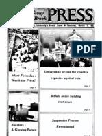 The Stony Brook Press - Volume 3, Issue 15