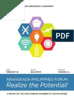Arangaka Philippines Second Anniversary Assessment