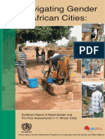 Navigating Gender in African Cities