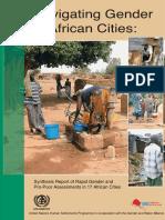 Navigating Gender in African Cities