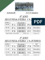 resultados e classificacoes futsal