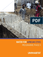 Water for African Cities Programme Phase II