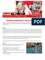 2014 USA Games Team Missouri newsletter -- Tuesday edition