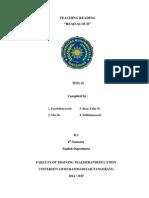 Read-Aloud Paper - 2nd Group TEFL II