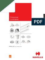 Consumer Pricelist April 2014