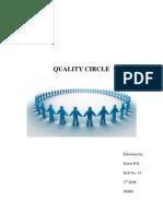 Quality Circles Report