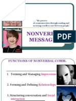 6. Nonverbal Messages