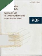 Heller Agnes y Feher Ferenc Politicas de La Postmodernidad Ensayos de Critica Cultural 1988