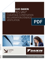 Catalogue Daikin Systemes VRV
