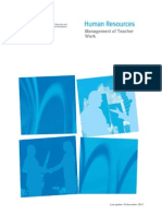 Management of Teacher Work Guide