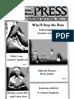 The Stony Brook Press - Volume 3, Issue 14