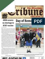 Front Page - November 13, 2009